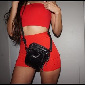 Red Hot 2 Piece Bandeau
